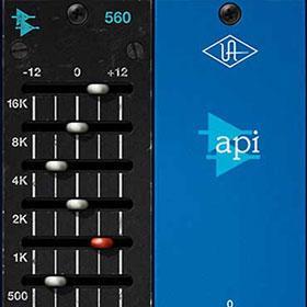 API 560 EQ plug-in