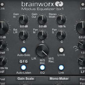 Brainworx bx_digital V3 EQ Collection plug-in
