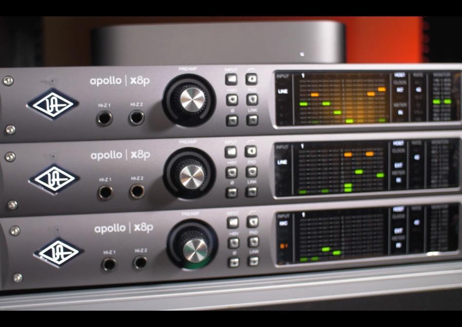 Universal Audio Apollo rackmount units