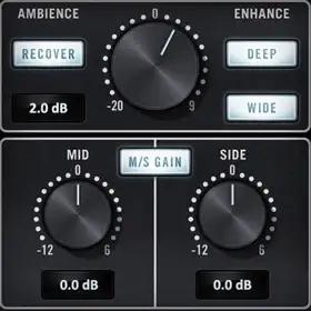 UA Precision K-Stereo Ambience Recovery plug-in