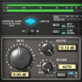 UA Precision Limiter plug-in