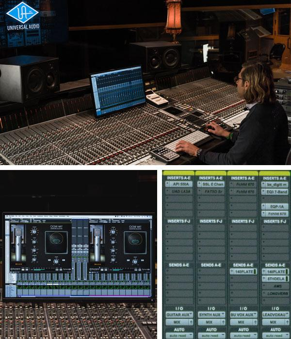 Mixing with Universal Audio Apollo and UAD plug-ins