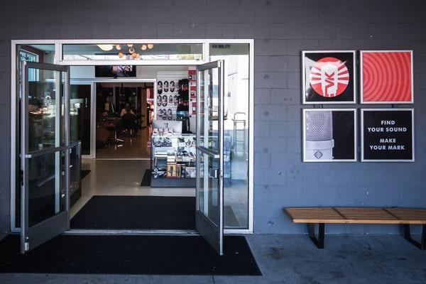 Vintage King Los Angeles storefront