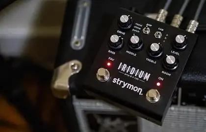 First Listen: Strymon Iridium Amp And IR Cab Simulator Guitar Pedal