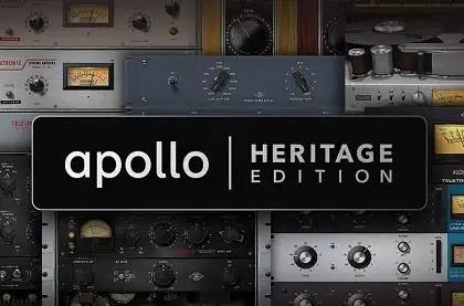 Universal Audio Announces Apollo Heritage Edition Interfaces