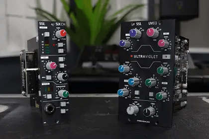 Solid State Logic Unleashes New 500 Series Modules With SiX CH And Ultraviolet Stereo EQ