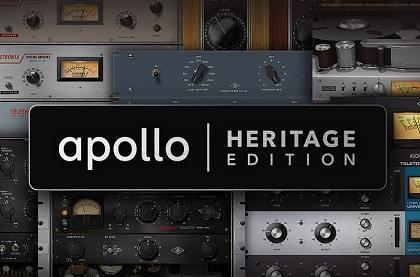 Universal Audio Announces Apollo Heritage Edition Interfaces