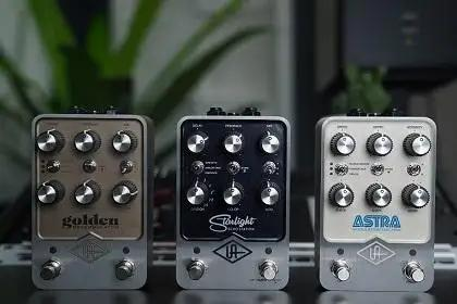 Hear Universal Audio's New UAFX Effects Pedals Here First!
