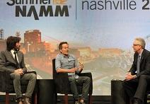 Vintage King's Mike and Andrew Nehra Talk At 2014 Summer NAMM
