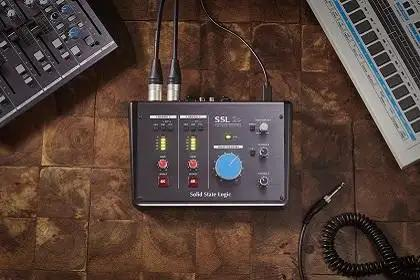 Solid State Logic Introduces New SSL 2 and 2+ USB Desktop Interfaces