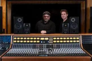 Vintage King Helps Gold Diggers Land API 2448 Console For Studio Room A