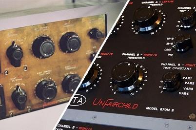 Comparing A Vintage Fairchild 670 To The UnderTone Audio UnFairchild 670M