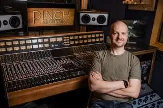 Pinch Recordings Brings Home New API 2448 Console From Vintage King
