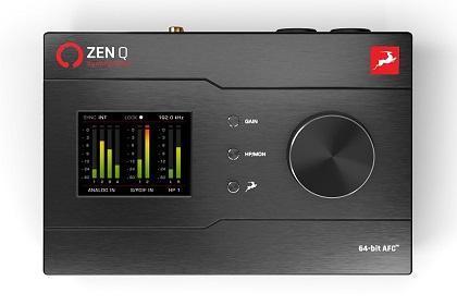 Antelope Audio Debuts New Zen Q Synergy Core Audio Interface