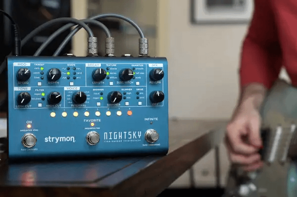 Quick Hits: Strymon NightSky Time-Warped Reverberator