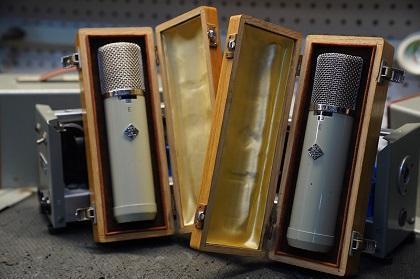 Around The Shop: Telefunken ELA-M 251 Microphones