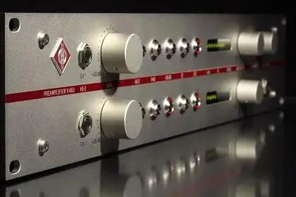Neumann's New V 402 Dual-Channel Preamp Offers Sonic Purity For Your Studio