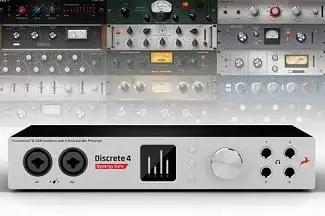 Antelope Audio's New Discrete 4 Interface Features New Synergy Core