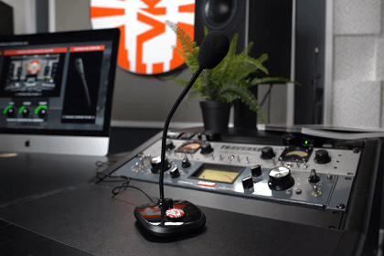 Vintage King Transforms In-Studio Convos With TBM4-1 Talkback Modeling Microphone