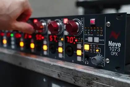 AMS Neve Launches 1073OPX With Eight Remote Controlled 1073 Mic Pres