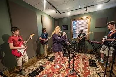 Stages Music Arts Creates Educational Space With Help From Vintage King