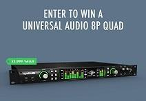 Vintage King And Universal Audio Apollo 8P Giveaway