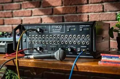 First Listen: Moog 16 Channel Vocoder