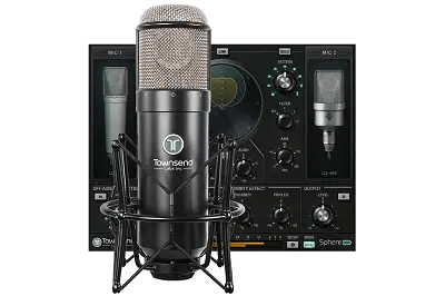 Win The New Townsend Labs Sphere L22 Condenser Studio Microphone From Vintage King