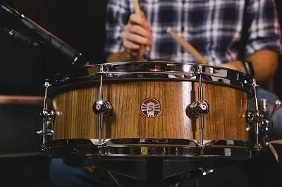 Sugar Percussion And Vintage King Team Up For Custom Snare Drum