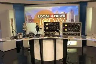 Vintage King Goes Live In The D With WDIV