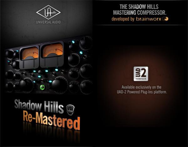 Acclaimed Shadow Hills Mastering Compressor Comes In Plug-in Platform