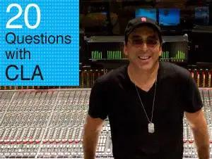 20 Questions With Chris Lord-Alge