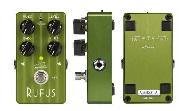 Suhr's Rufus Pedal Brings Durable Fuzz To Life