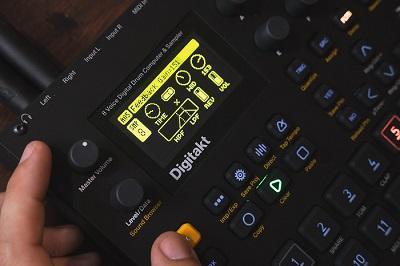 First Listen: A Review Of The Elektron Digitakt Compact Digital Drum Machine