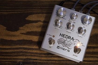 Win A Meris Hedra Rhythmic Pitch Shifter Pedal From Vintage King