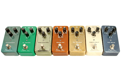 Guitarist Josh Smith and AboveGroundFX Pedals