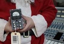 Around The Shop: Santa Claus Returns To The Vintage King Tech Shop