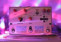 Hologram Electronics Delivers Synthy Sounds In Dream Sequence Pedal