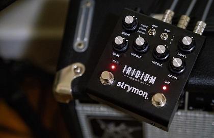 First Listen: Strymon Iridium Amp And IR Cab Simulator Guitar Pedal