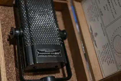 Old School Ribbon Mic Revival With The Melodium 42Bn