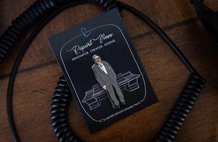 Help Vintage King Say #ThankYouRupert With Exclusive Rupert Neve Pin