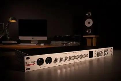 Get Free British Sound FX With Antelope Audio's Discrete 4 And Discrete 8 Synergy Core Interfaces