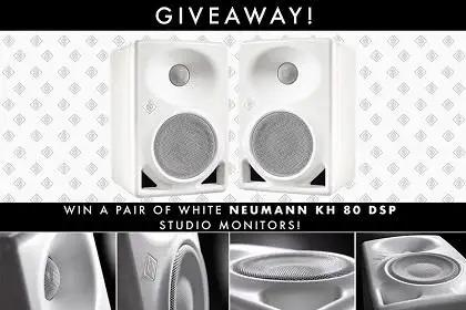 Official Rules For Neumann KH 80 Studio Monitor Giveaway