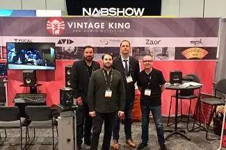 Vintage King Offers Fully Immersive Experience At 2019 NAB Show