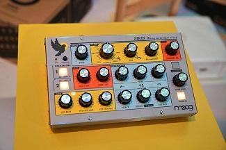 Moog Music's Limited Edition Sirin Bass Synth In Stock At Vintage King