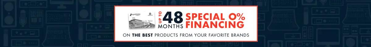 48 Month Financing from Vintage King
