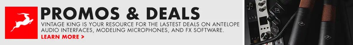 Antelope Audio Promos and Deals