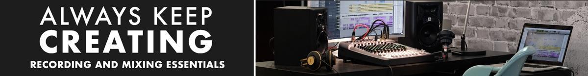 Essentials for Home Recording